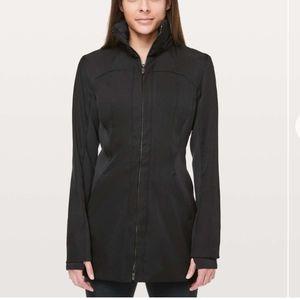 EUC Lululemon Black Like A Glove Jacket- Size 12